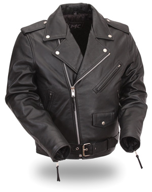 Men's Classic M/C Jacket