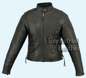 Women's Lightweight Touring Leather Jacket