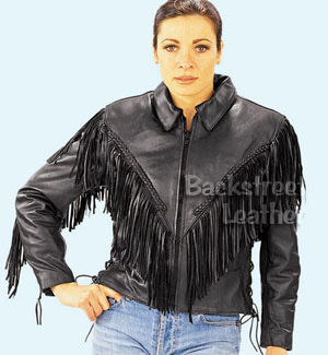 Women's Traditional Jacket with Fringe