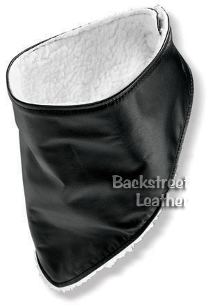 Insulated Leather Biker Bandanna
