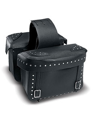 Large Throw-Over Saddlebag with Box Top Lid