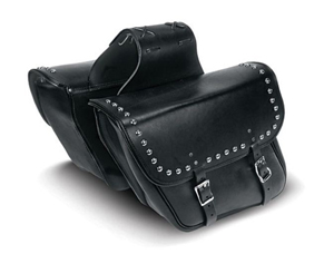 Heavy Duty Slant Throw-Over Saddle Bag