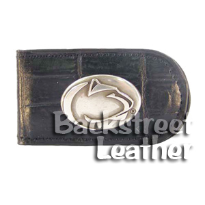Croco Leather Money Clip