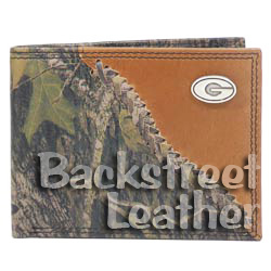 Mossy Oak Leather Billfold