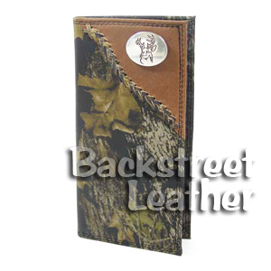 Mossy Oak Leather Secretary