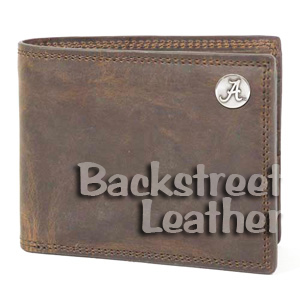 Crazy Horse Billfold, Brown