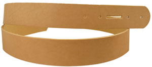 1-3/4 Oak-tanned belt blank