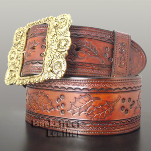 Exquisite Santa Belt