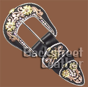 Crystal Canyon Buckle Set 1-1/2 inch