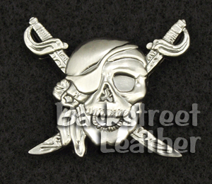 Pirate Skull Concho